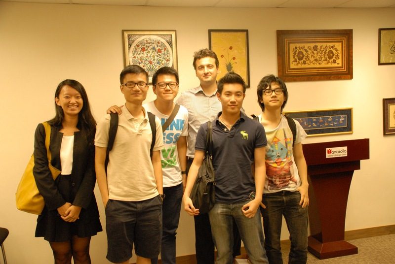 Entrepreneurs of the Future Visited PI