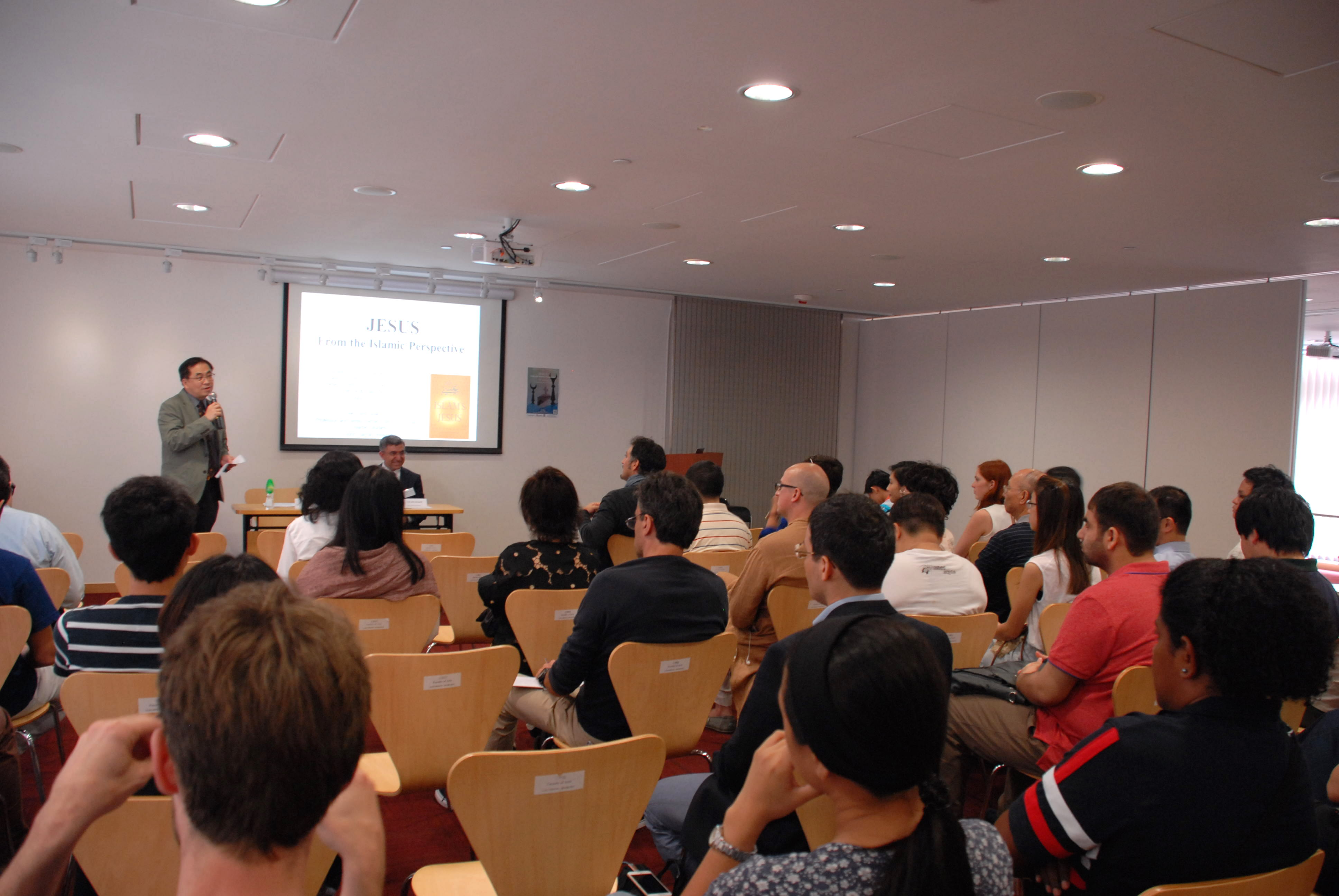 Lecture on Islam's Jesus at CUHK