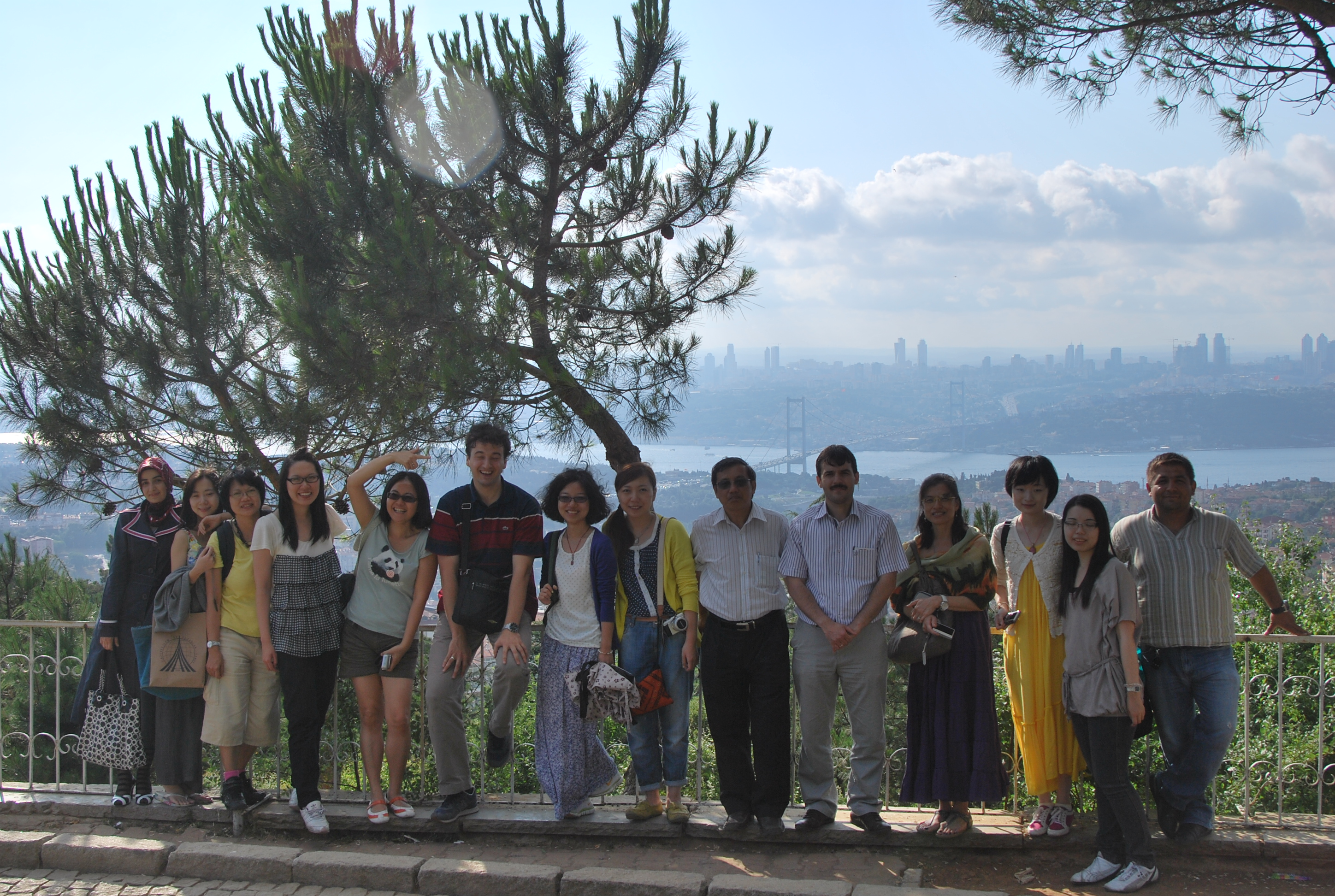 Intercultural trip to Turkey with the Academicians and Students of Chinese U of Hong Kong